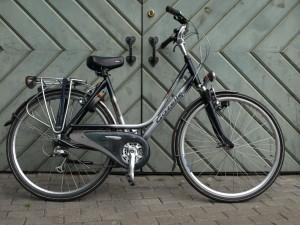 Rental bike in Riga