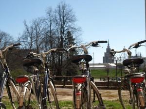 Bikes in Riga Old town